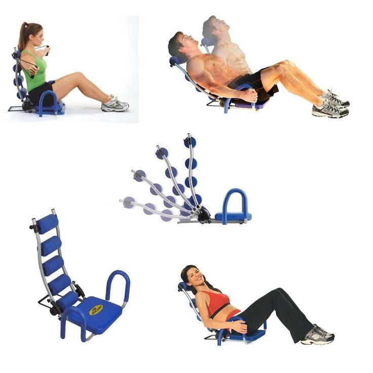 Ab Rocket Abdominal Exercise Equipment Workout Cardio Fitness Home Trainer Gym #AbRocketAbdominalExerciseEquipment