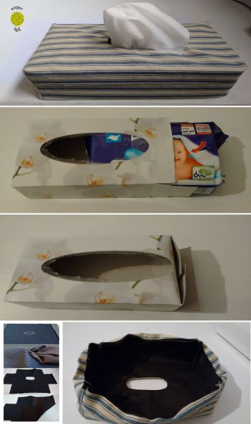 In 7 Schritten den einfachen Pappkarton deiner Taschentücherbox mit einer selbstgenähten Stoffhülle aufhübschen. ANLEITUNG Schritt 1: Box ausmessen Schritt 2: Zwei Rechtecke (Seitenlängen addieren, Nahtzugabe nicht vergessen) aus Stoff zuschneiden & übereinanderlegen. Alternativ: Alten, aufgefalteten Karton als Vorlage nutzen. … Weiterlesen →