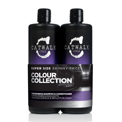 TIGI Catwalk Fashionista Violet Tween Shampoo & Conditioner Duo 2x750ml £29