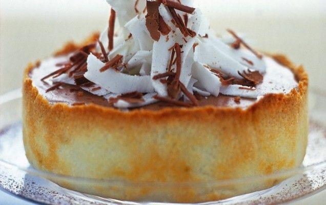 Μπισκοτένια τούρτα με σοκολατένια γέμιση