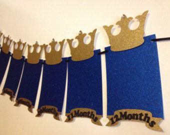 Prince Birthday Party Decorations SIGN Little Prince by ModParty