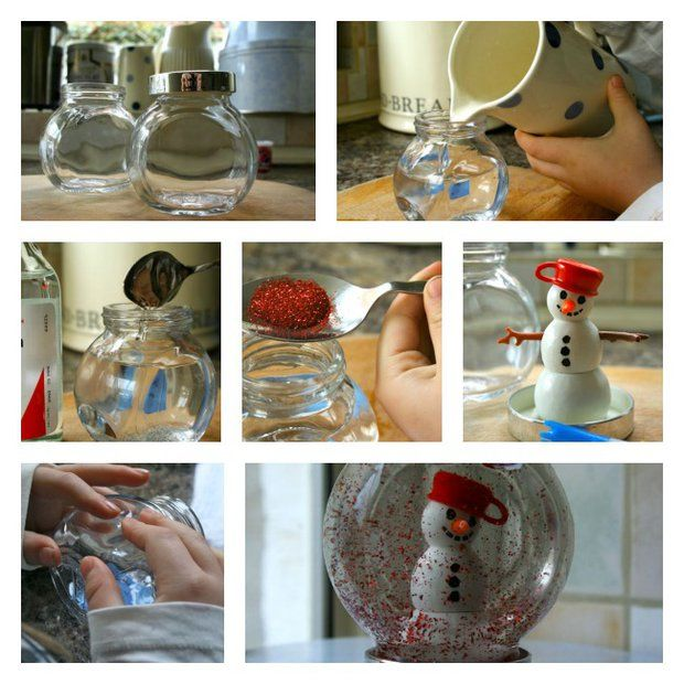 Vyrobte si vlastní sněžítko
