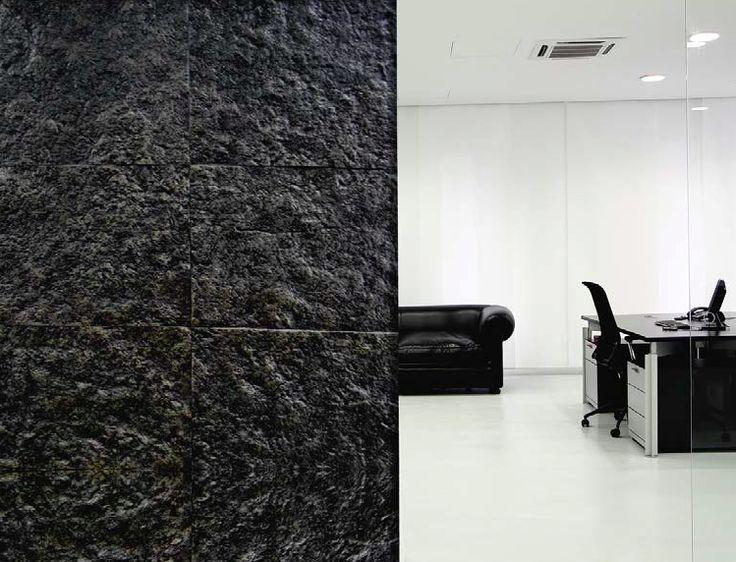 17 best images about acabados on pinterest tes exposed - Recubrimientos para paredes ...