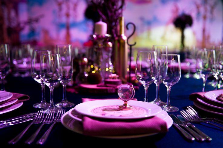 children birthday, children birthday decorations, The Golden Compass , детский день рождения, золотой компас, оформление праздника, сервировка стола