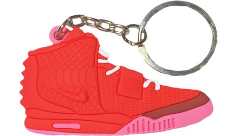 """Nike Air Yeezy 2 SP """"Red October"""" Keychain"""