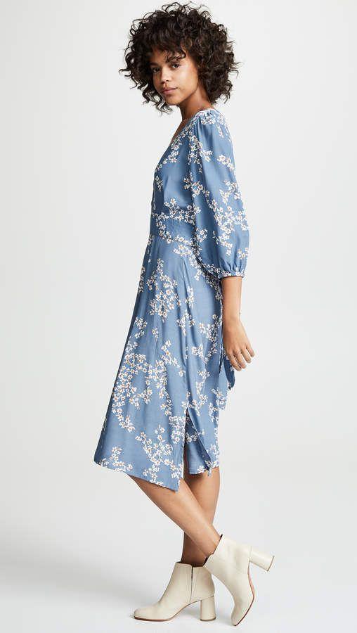 0729a54684 Faithfull The Brand Chloe Midi Dress #Brand#Faithfull#Chloe ...