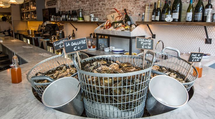 Brut de Mer in Amsterdam for oysters, fish and bubbles