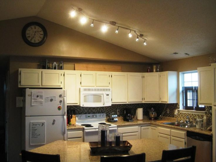 Best 25+ Vaulted ceiling lighting ideas on Pinterest | Vaulted ceiling kitchen Kitchen with vaulted ceiling and High ceiling lighting : track lighting vaulted ceiling - azcodes.com