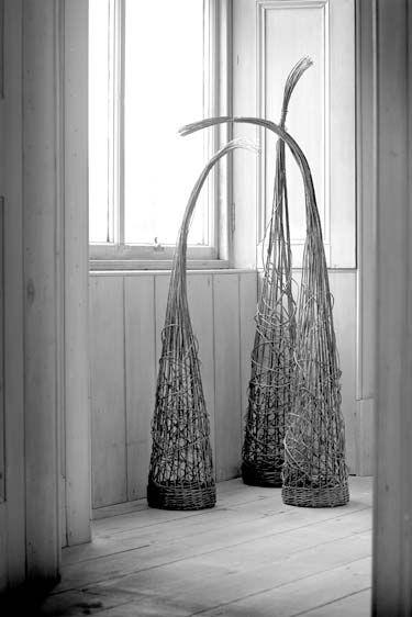 Lizzie Farey, 'three sisters', willow, 2005