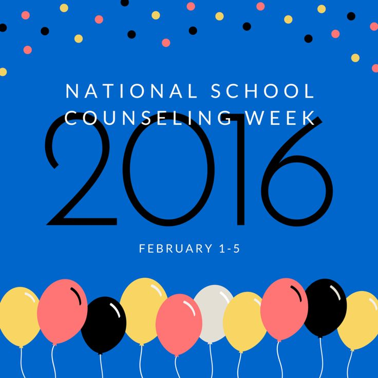 For High School Counselors: A Recipe for a Great National School Counselor Week!