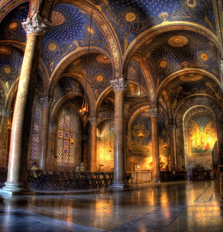 Have you ever seen anything as lovely as the Church of all Nations in Jerusalem? It is said to have been built on the site of the garden of Gethsemane. I hope I get to see it one day.