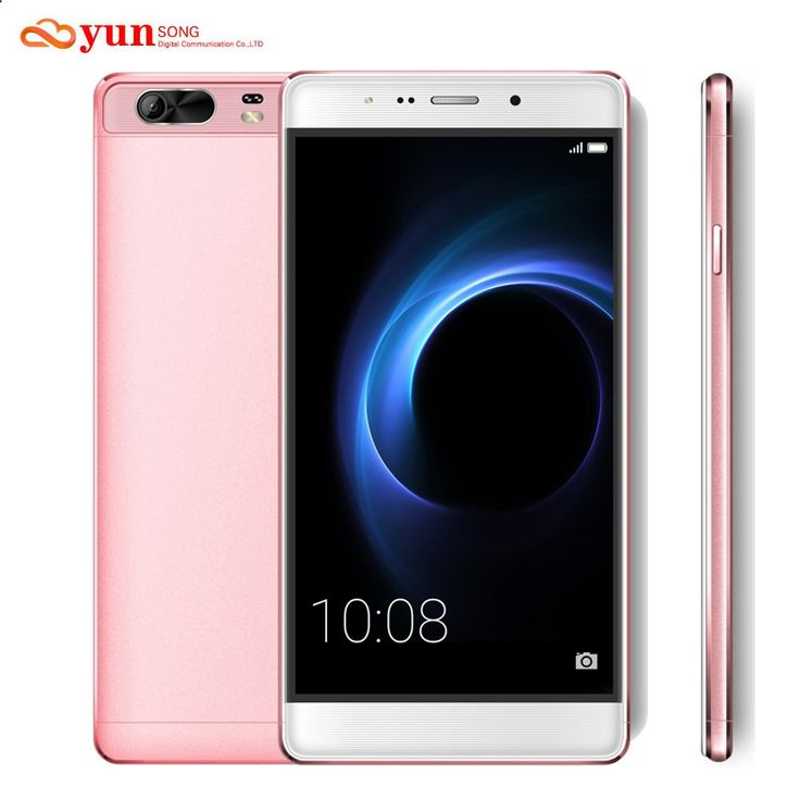 YUNSONG S9 Plus Mobile Phone 6.0 inch screen Smartphone 16MP camera MTK6580 Quad Core Dual Sim Cell Phone GSM/WCDMA 3G Phone