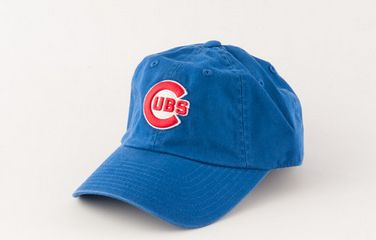 Chicago Cubs Ballpark Slouch Adjustable Hat By American Needle
