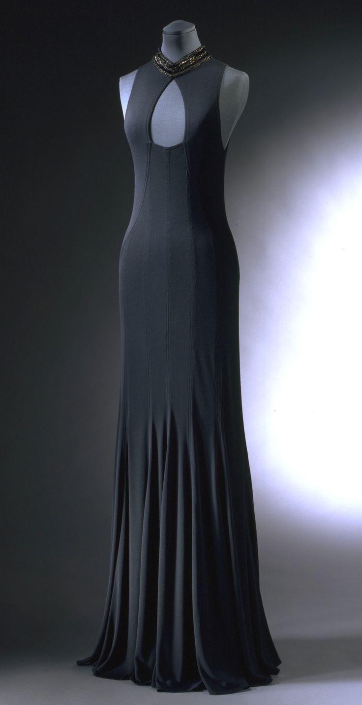 Jean Muir 1995 Machine-sewn jersey