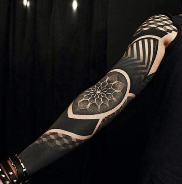 Maori tattoo Arm black   #Tattoo, #Tattooed, #Tattoos