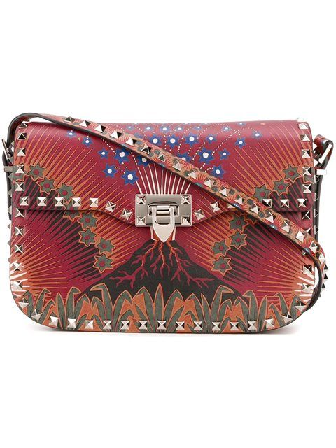 Shop Valentino 'Rockstud Volcano' flip-lock shoulder bag in Biondini Paris from the world's best independent boutiques at farfetch.com. Shop 400 boutiques at one address.