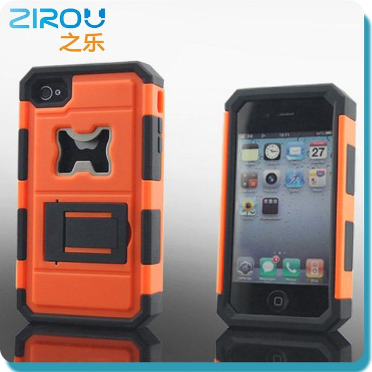 Fashion silicone bottle opener phone case for Iphone 5 S5 S4, stand phone case for iphone 5 S5 S4