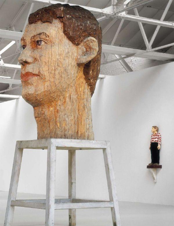 Sculpture de Stephan Balkenhol - magique!