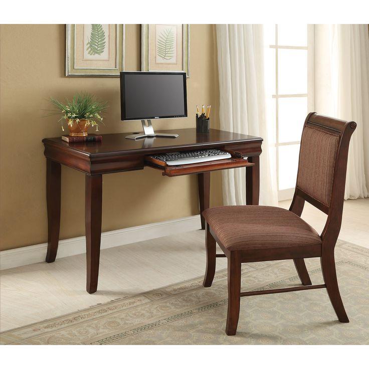 Mahavira Cherry Desk And Chair Set
