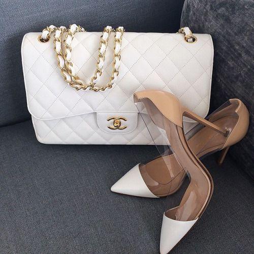 Imagem de chanel, fashion, and shoes