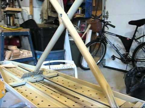 Making a wall mounted ironing board - YouTube