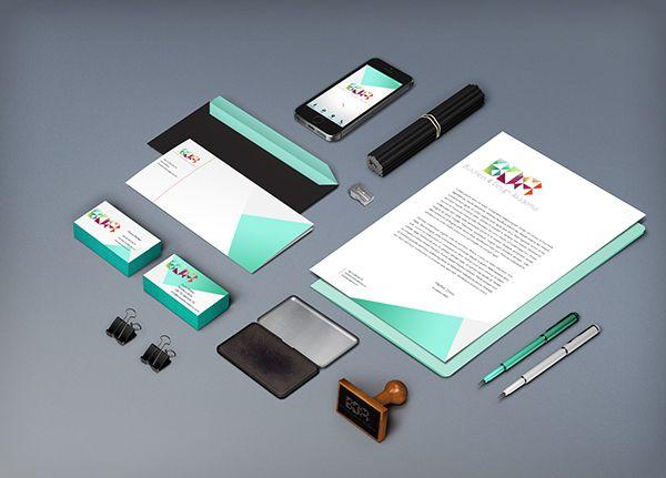 Business and Design Academy project by Dóra Melher, via Behance