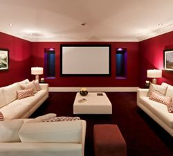 ... Home Theatre on Pinterest  Home theatre, Media room design and Home