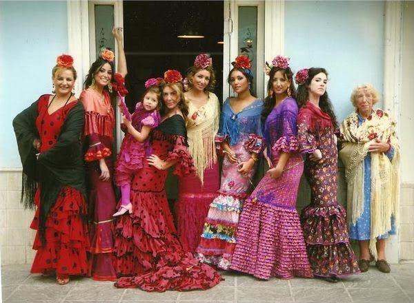 mama de mayor quiero ser flamenca: ESTILISMOS FLAMENCOS