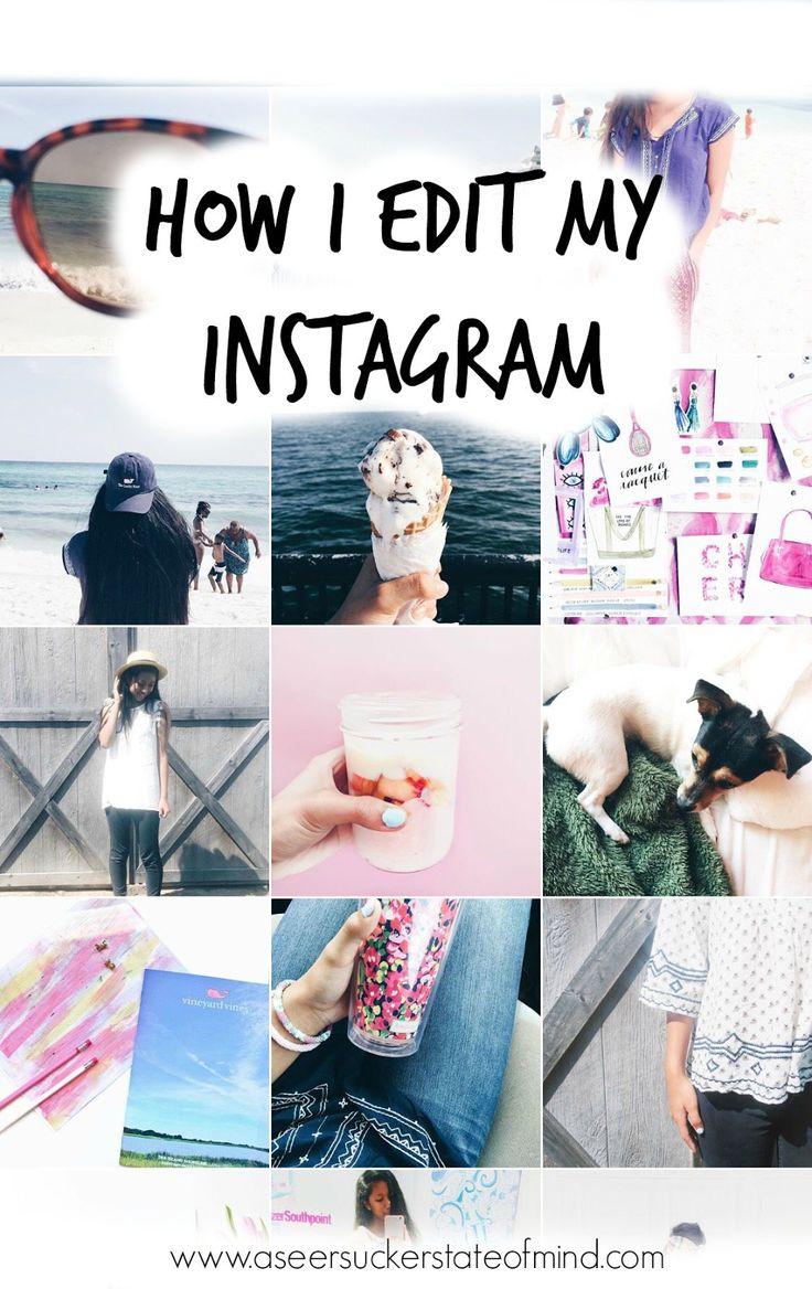 A Seersucker State of Mind: Favorite Feeds - How I Edit My Instagram