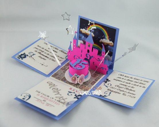 ideas para invitaciones de quinceañeras   Diseños de Invitaciones para Fiesta de 15 Años 7