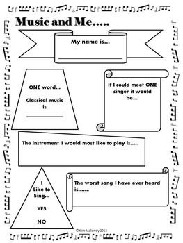 Back to School Ice Breakers for Music Classes. Sarah, perhaps a select