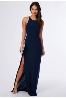 High Neck Maxi Dress - RP Dress