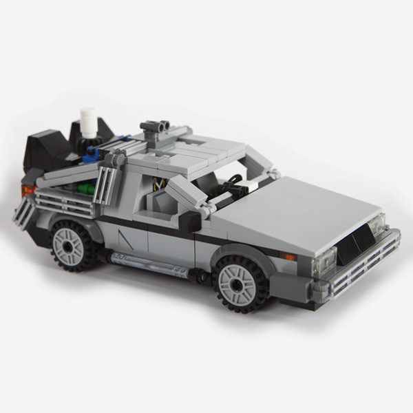 lego the delorean time machine
