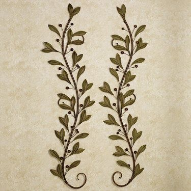 Catalonia Olive Metal Wall Art - for the Shop of Olives family! :-)