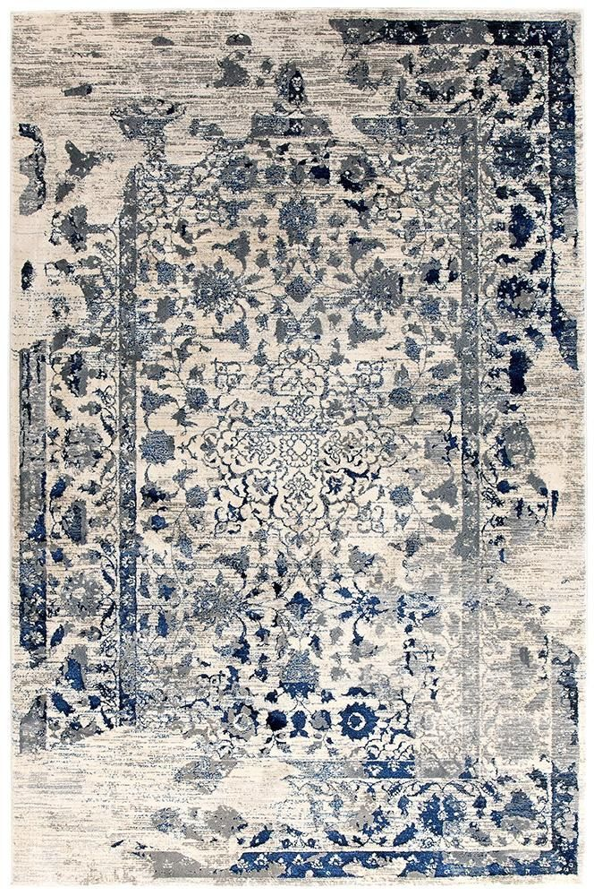 Tabriz Transitional Modern Rug White Navy Grey Aladdin Rugs Nz This Is The For My Lounge