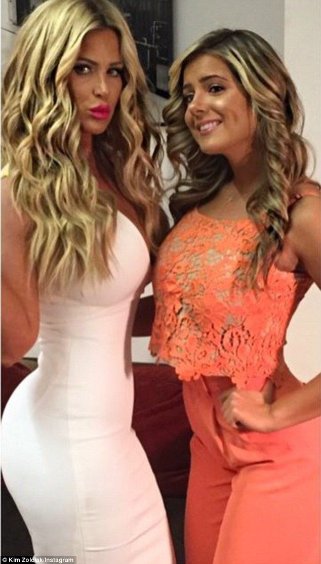 Kim Zolciak and daughter Brielle look like twins in Instagram selfies #dailymail