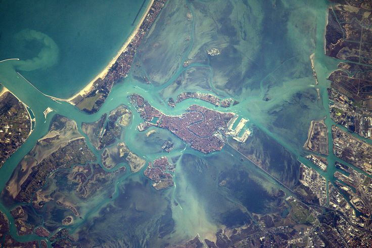 Space Station Flight Over Venice