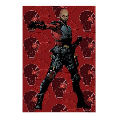 Suicide Squad | Deadshot Comic Book Art Poster - click to get yours right now!