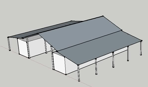 Shipping Container Barn Plans Container Fort Zinderenuf