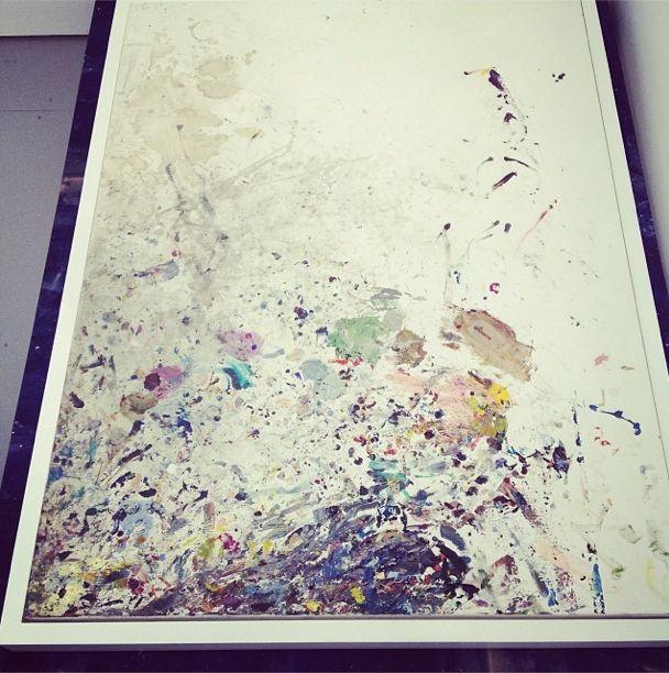 Amazing painting from Nicholas Franck #abmb #untitled #cumulus studios #art