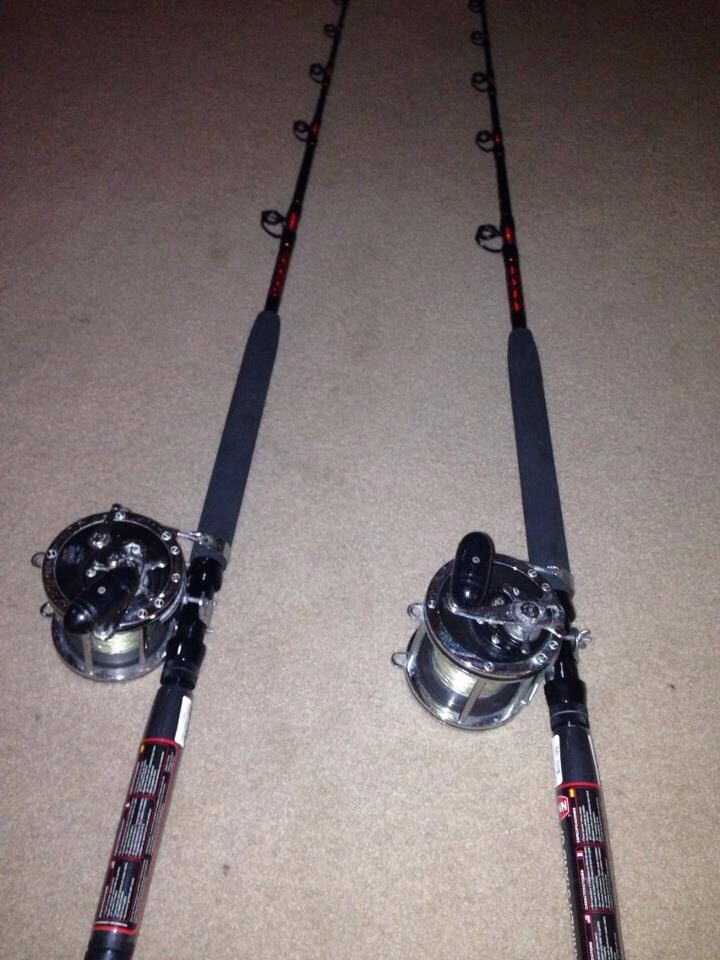 10 best extreme fishing equipment images on pinterest for Shark fishing rods