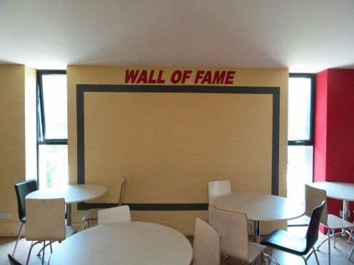Will you make it onto the wall of fame.