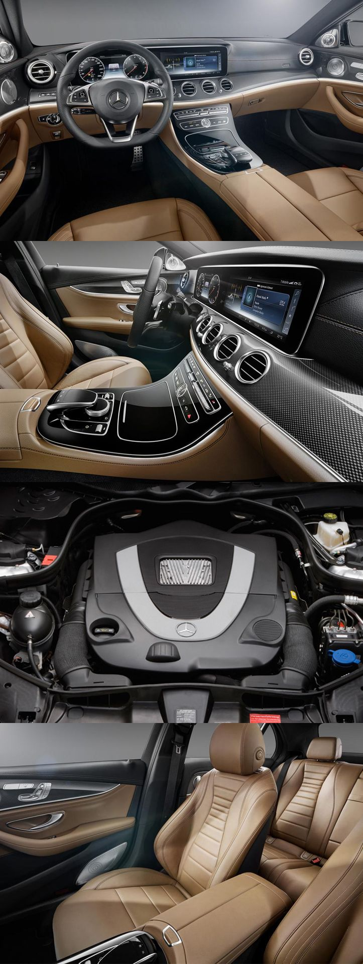 2016 #Mercedes_Benz #E_Class #Interior Revealed For more information visit link: http://www.usedenginesforsale.co.uk/blog/category/mercerdces-benz/