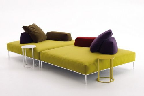 Awesome modern sofa!  Frank Modular Sofa Sectional from B Italia / Antonio Citterio