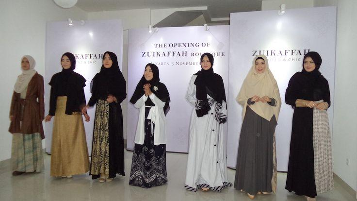 Tips Tampil Muslimah Cantik Dengan Dari Koleksi Etnik Dari Zuikaffah