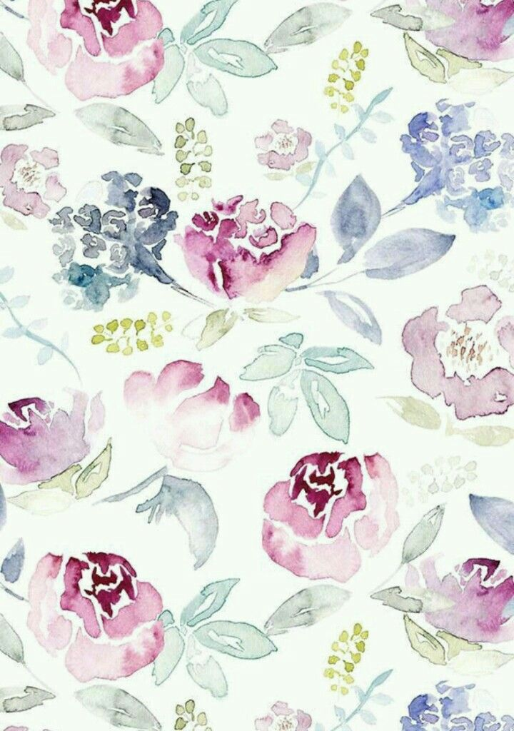 Backgrounds Whatsapp Wallpapers Floral Watercolor
