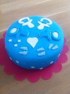 Surprise babyshower taart!