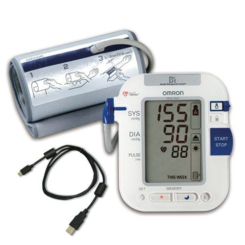 Omron HEM-790IT Automatic Blood Pressure Monitor with Advanced Omron Health Management Software at http://suliaszone.com/omron-hem-790it-automatic-blood-pressure-monitor-with-advanced-omron-health-management-software/