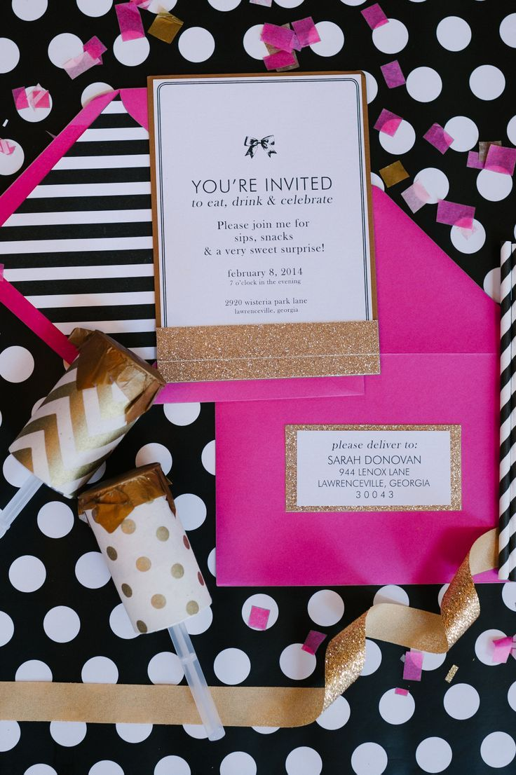 I like this color theme…maybe for an engagement party or bachelorette party