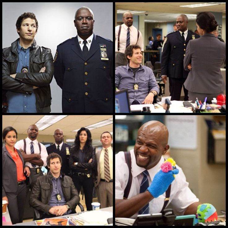 Brooklyn Nine Nine. One of my favorite shows!! Soo funny
